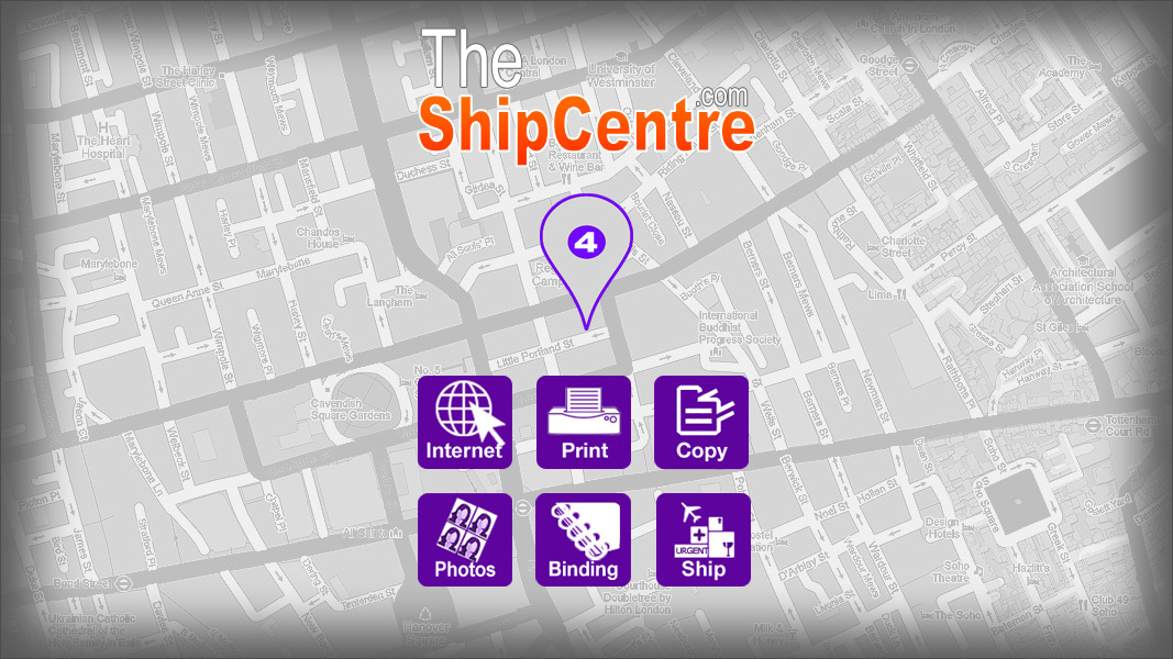 the shipcentre location